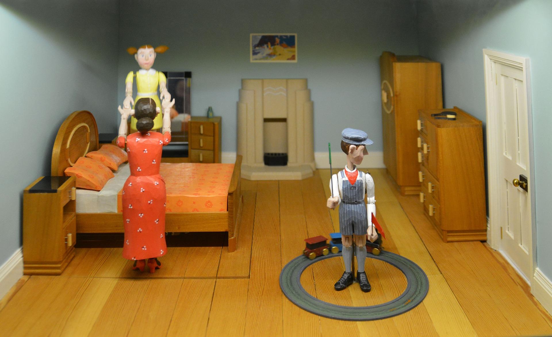 בית בובות עץ